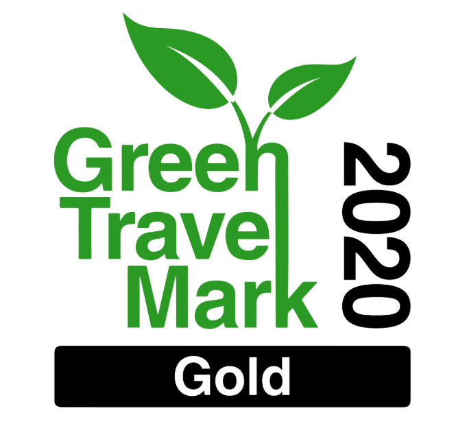 Green Travel Mark 2020 - we won an award!